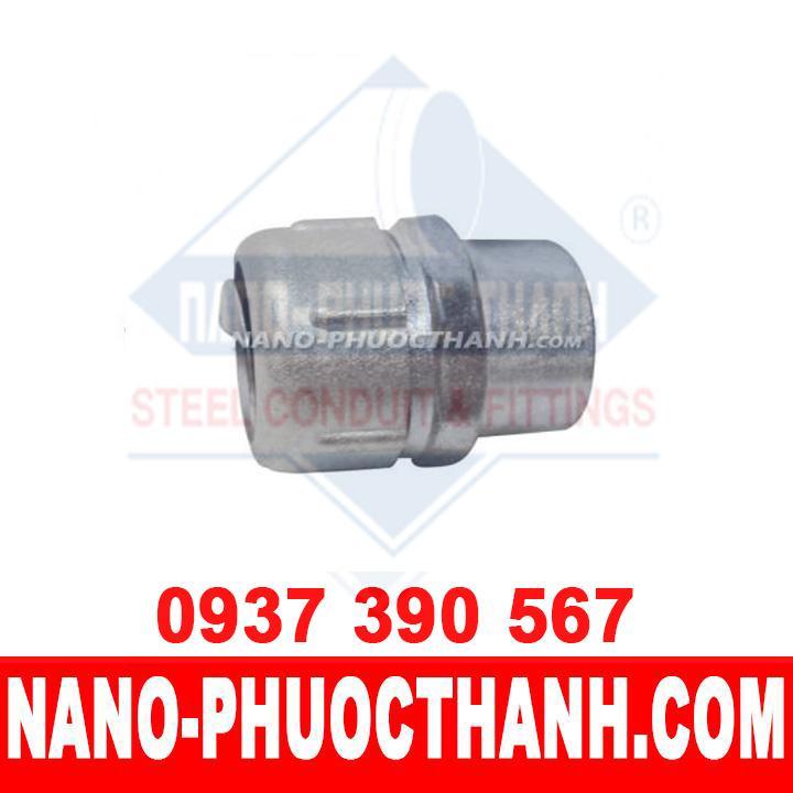 Đầu nối ống thép luồn dây điện IMC với ống ruột gà kín nước - NANO PHƯỚC THÀNH