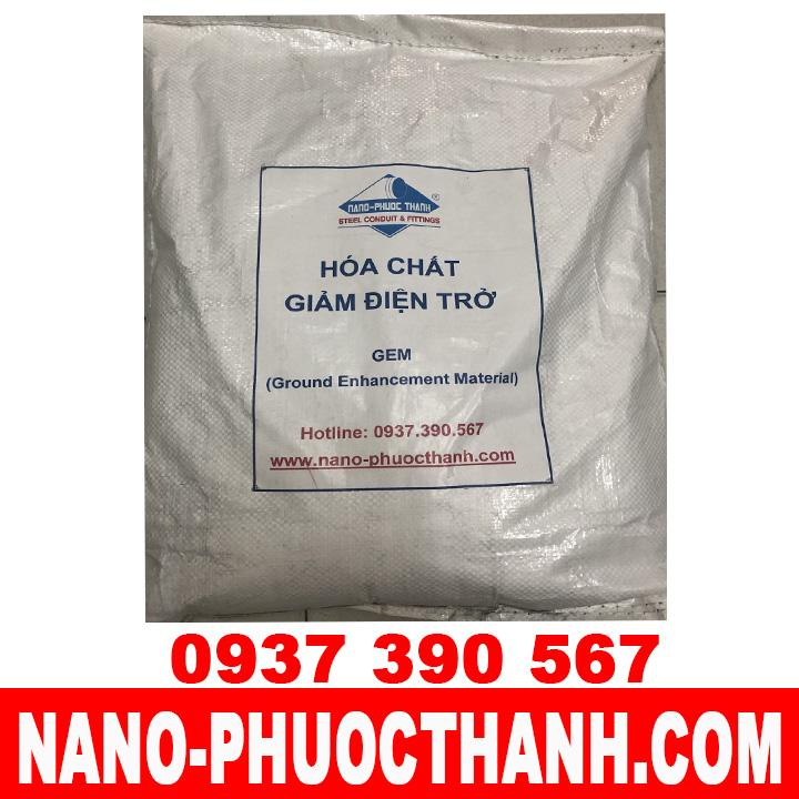 Hóa chất giảm điện trở đất - NANO PHƯỚC THÀNH - Việt Nam