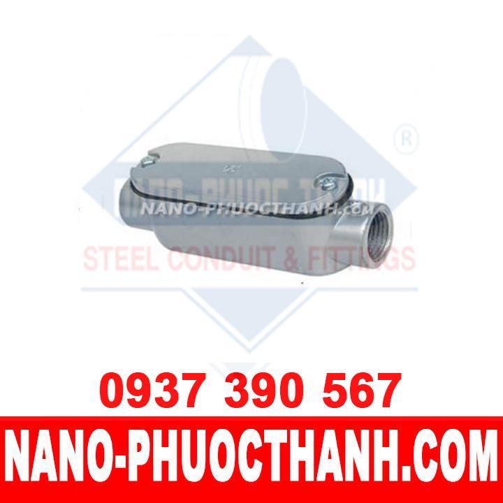 Hộp nối kín nước C dùng cho ống thép luồn dây điện ren IMC - NANO PHƯỚC THÀNH