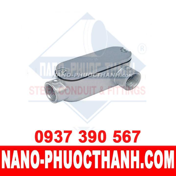 Hộp nối kín nước LL dùng cho ống thép luồn dây điện ren IMC - NANO PHƯỚC THÀNH