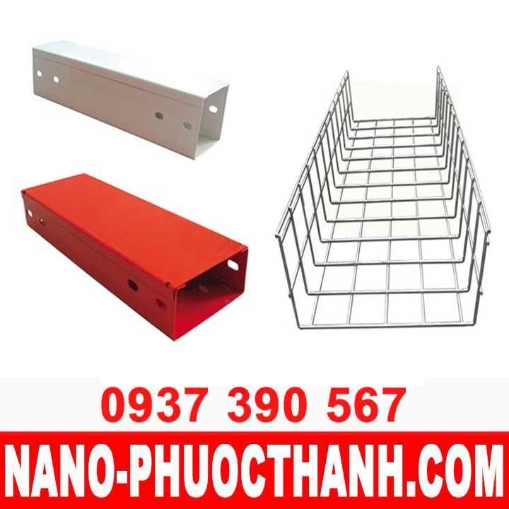 Khay cáp - Máng cáp - Cable Tray - Máng lưới - NANO PHƯỚC THÀNH