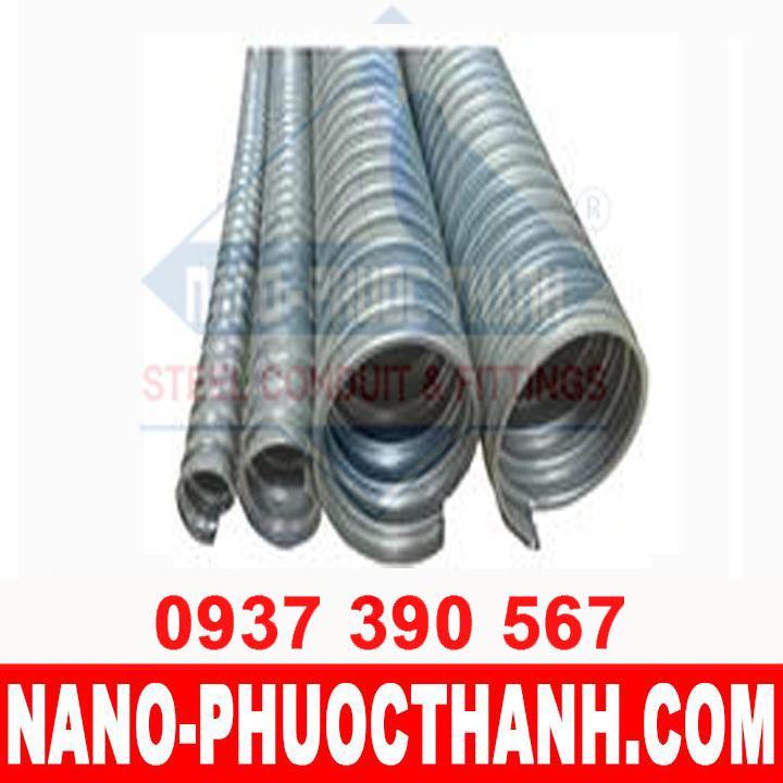 Ống ruột gà lõi thép, ống luồn dây điện bọc nhựa (phi 20, phi 25) - NANO PHƯỚC THÀNH