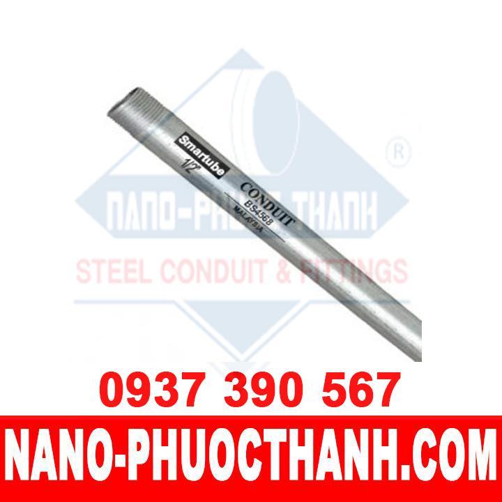 Ống thép luồn dây điện ren BS4568 được cấp bởi Nano Phước Thành