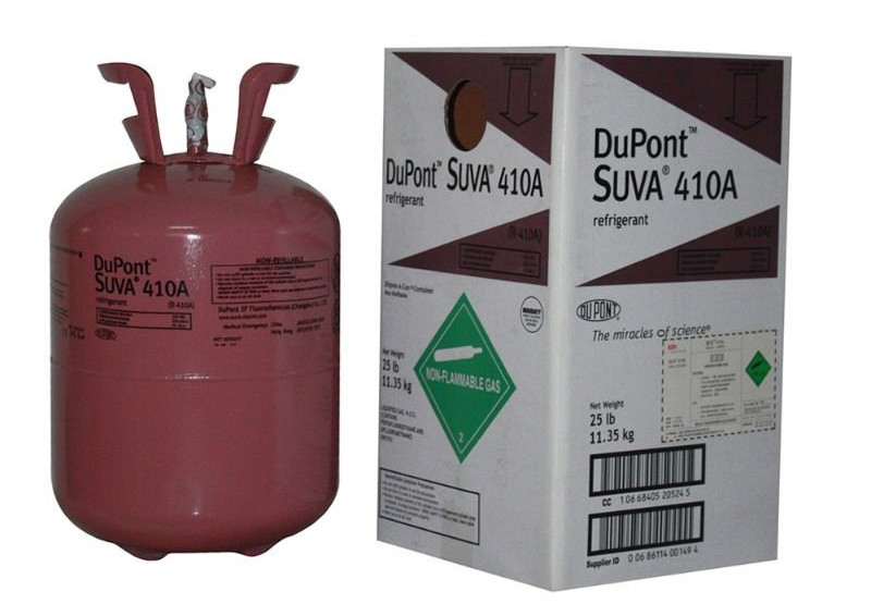 Gas lạnh Dupont Suva R410A - gas Dupont Suva