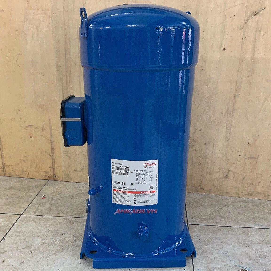 0912214283 Bán máy nén lạnh Danfoss 13 hp SH161A4ALC giá tốt.
