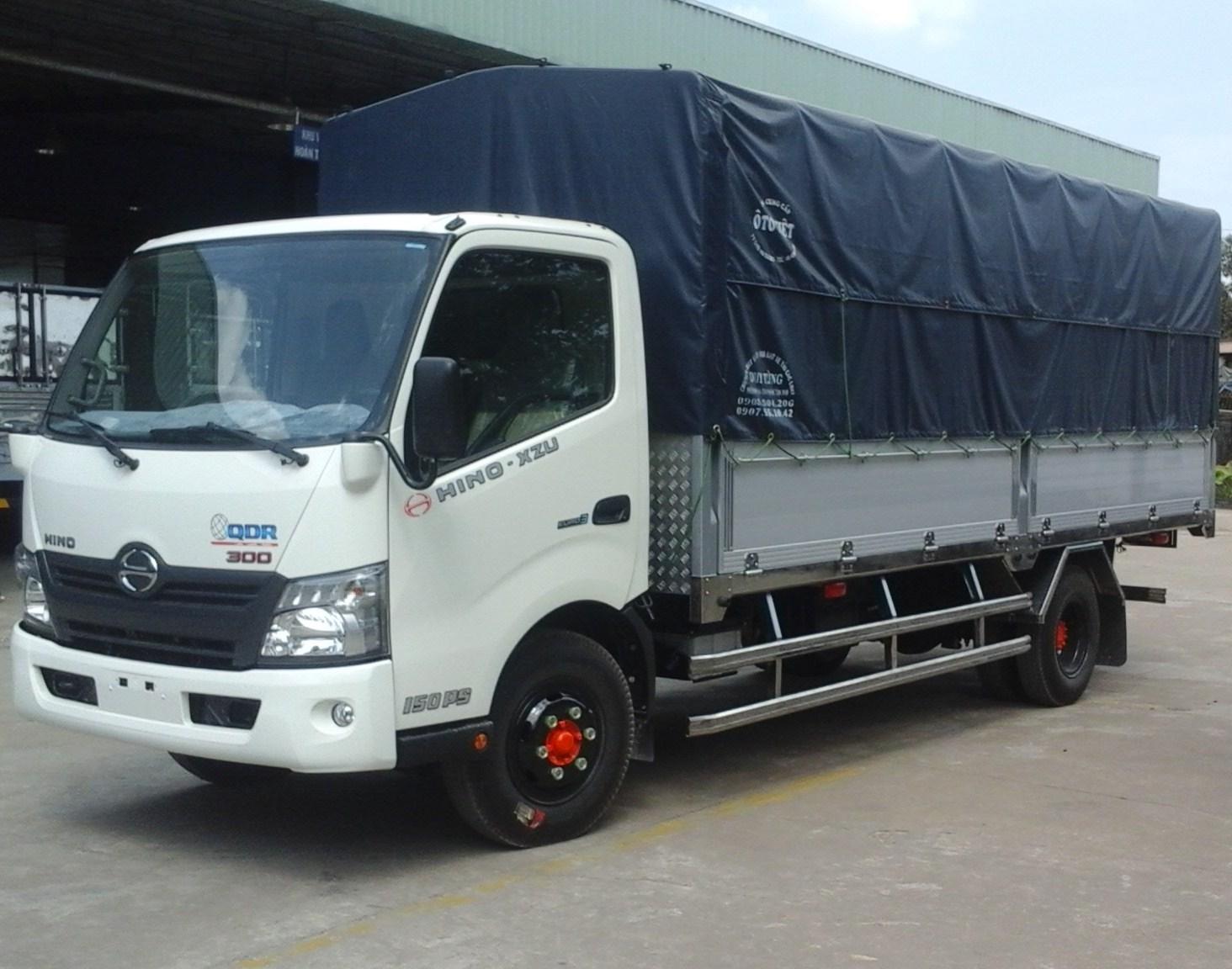 Phân phối xe tải hino 1,5 tấn chính hãng giá ưu đãi