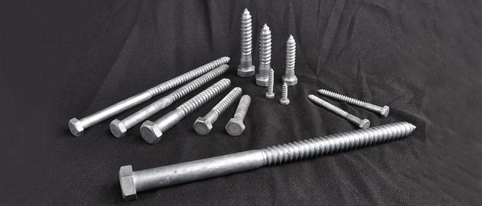 Hexagonal wood screws