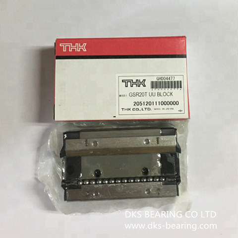 Con trượt GSR15T UU BLOCK/GSR25V UU BLOCK/ GSR35T SS BLOCK/GSR30T UU BLOCK  thương hiệu THK