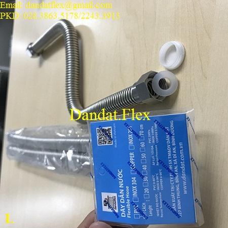 Dây cấp nước inox cho máy nước nóng lạnh
