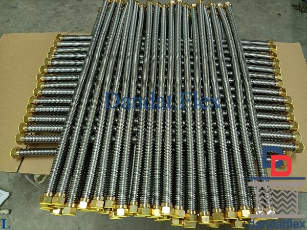 Dây cấp nước mềm inox 304/ống cấp nước inox