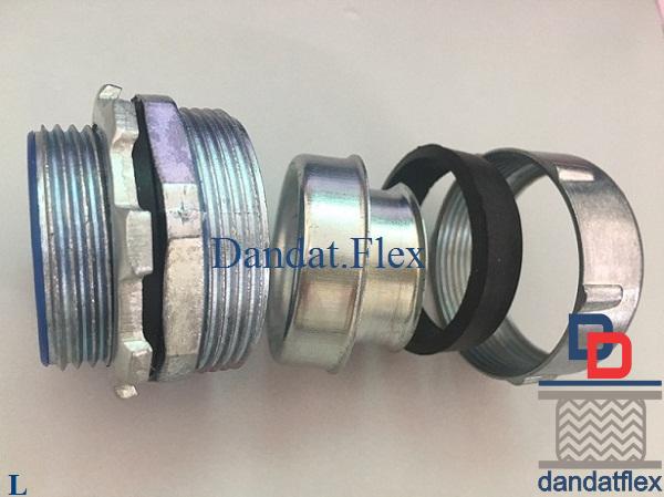 DPJB - Đầu nối ống thép mềm luồn dây điện