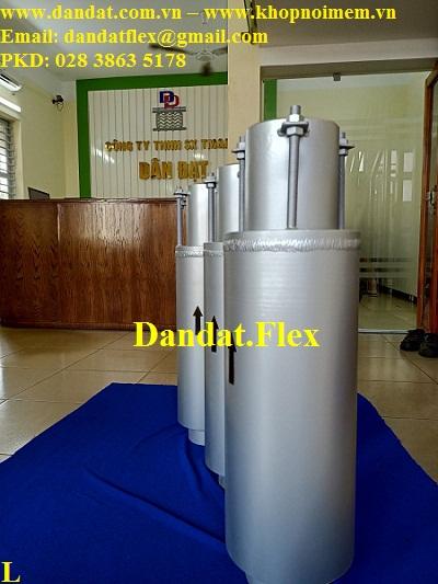 Khớp co giãn Model AS-510 (không mặt bích) DN150x0.8m