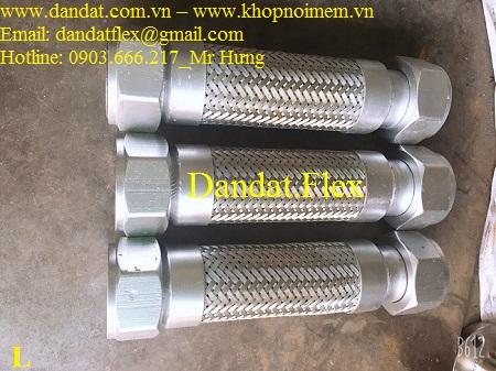 Khớp nối mềm chịu nhiệt - Model DD-S222