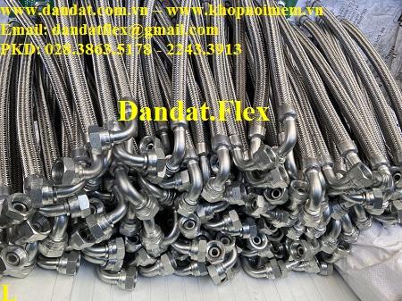 Khớp nối mềm inox lắp ren - Khớp nối mềm inox chịu nhiệt cao