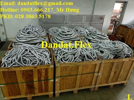 Nhà sản xuất ống ruột gà lõi thép bọc inox giá tốt