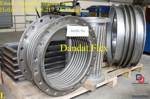 Ống bù trừ giãn nở nhiệt inox, ống nối giãn nở nhiệt, ống nối mềm kim loại, ống nối mềm inox 304