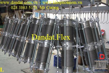 Ống chịu nhiệt đàn hồi dn300, ống giãn nở, ống co giãn, khớp giãn nở inox