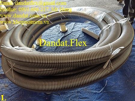Ống không lưới inox 304 - Ống ruột gà inox 304