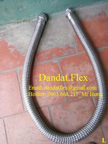 Ống mềm dẫn khí nóng, ống nối mềm inox dẫn khí nóng