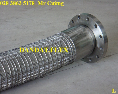 Ống mềm inox (Flexible metal Hose), ong mem inox