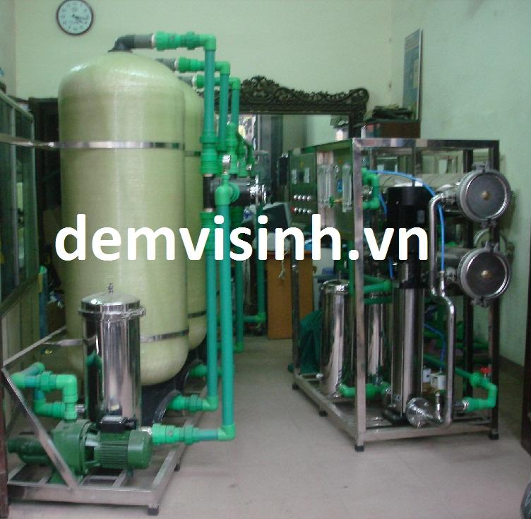Hệ thống lọc nước tinh khiết 500l/h