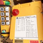 Điều khiển cầu trục F24 - 8D 8 nút 2 tốc độ