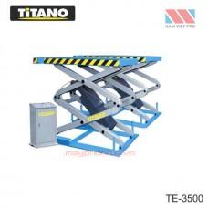 Cầu nâng ô tô kiểu xếp 3.5 tấn, bàn nâng nhỏ - TE3500