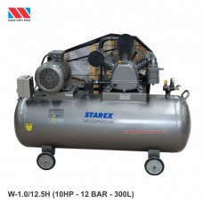 Máy nén khí 2 cấp Starex 10HP W-1.0/12.5/H