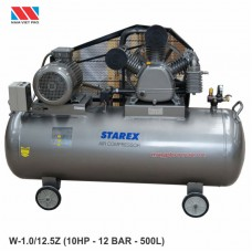 Máy nén khí starex 2 cấp 10HP W-1.0/12.5/Z