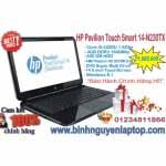 HP Pavilion TouchSmart 14-N230TX – Core™ i5-4200U 4GB 500Gb  VGA 2GB TouchScreen Win8.1- Bảo hành chính hãng
