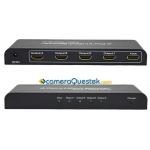 Bộ chia HDMI 1 ra 4 cổng 3D - HDMI splitter 1 x 4