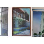 Cửa sổ lưới tự cuốn dọc chống côn trùng Quang Minh