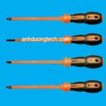Tua vít cách điện 1000V- Screwdrivers