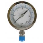 Đồng hồ áp suất 3 kim Hawk Gauge, model 27L+EWC2