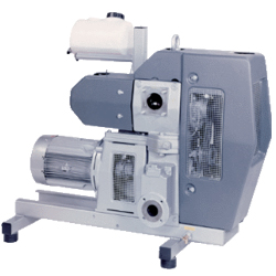 Busch - Huckepack - once-through lubricated Rotary Vane Vacuum Pumps
