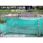 lưới may vèo, lưới nuôi cá