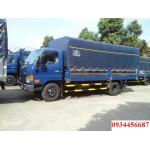 Quảng ninh giá Hyundai HD98 6,5 tấn thùng mui bạt