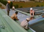 Tấm cách nhiệt virgin AF chống nóng mái tole