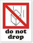 Nhãn cảnh báo trong vận chuyển / Shipping label