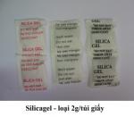 Silica gel túi giấy 2g, 1,4g