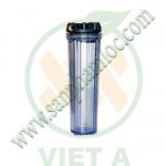 cốc lọc nước 20 inch trong, cốc lọc nhựa trong 20 inch