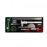 Bộ dụng cụ đo và cắt 11 chi tiết TOPTUL GCAT1101