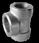 TÊ  REN INOX ASTM A 182 ASME/ANSI B 16.11