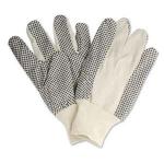 Găng tay vải phủ hạt nhựa - Cotton Polka Dot Gloves