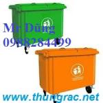 thùng rác composite 660l đến 800L, siêu bền đẹp rẻ