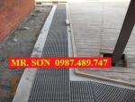 Bán tấm sàn lưới sợi thủy tinh rẻ nhất, FRP, FRP-GRATING, Bán tấm sàn lót chống trượt trong nhà máy.