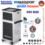 Tủ đồ nghề cao cấp 10 ngăn QUADRO Champion - 8162 9530