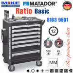 Tủ đồ nghề cao cấp 7 ngăn RATIO Basic - 8163 9501