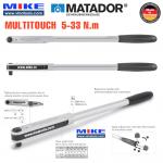 Cà lê lực 5-33 Nm - đầu vuông 3/8 inch - MULTITOUCH - 6174 0010