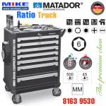 Tủ đồ nghề cao cấp 7 ngăn RATIO Truck - 8163 9530